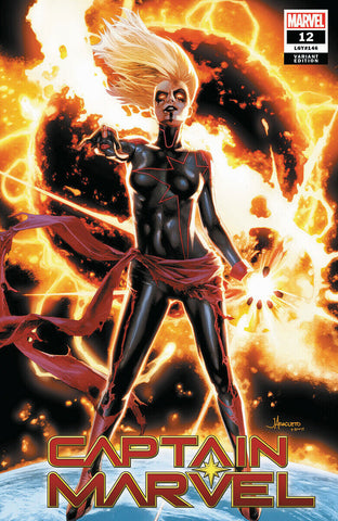 CAPTAIN MARVEL #12 JAY ANACLETO EXCLUSIVE