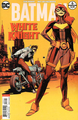 BATMAN WHITE KNIGHT #6 (OF 8) VAR ED