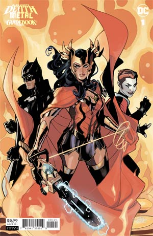 DARK NIGHTS DEATH METAL GUIDEBOOK #1 (ONE SHOT) INC TERRY DODSON & RACHEL DODSON VAR