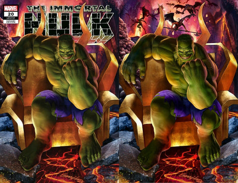 IMMORTAL HULK #20 GREG HORN 2 PACK COMICXPOSURE EXCLUSIVE