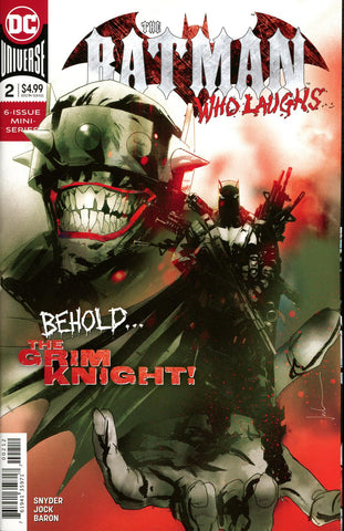 BATMAN WHO LAUGHS #2 (OF 6) FINAL PTG