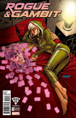 ROGUE & GAMBIT #1 (OF 5) LEG FRIED PIE EXCLUSIVE