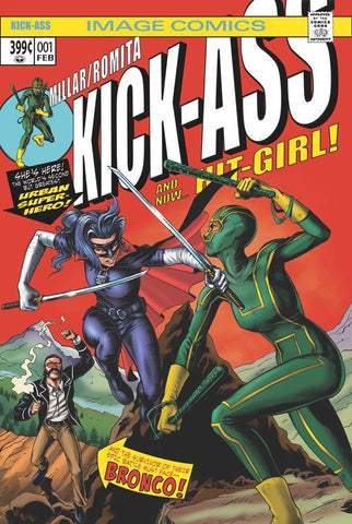 KICK-ASS #1 BTC  MIKE ROOTH EXCLUSIVE