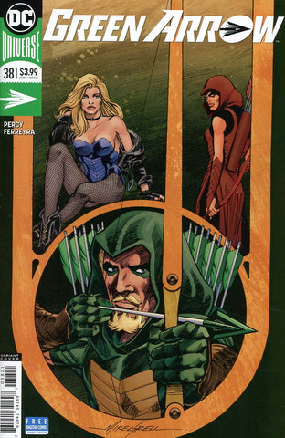 GREEN ARROW #38 VAR ED