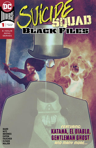 SUICIDE SQUAD BLACK FILES #1 (OF 6)