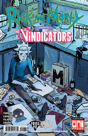 RICK & MORTY PRESENTS THE VINDICATORS #1 FRIED PIE EXCLUSIVE
