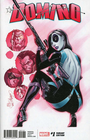 DOMINO #1 J SCOTT CAMPBELL VAR