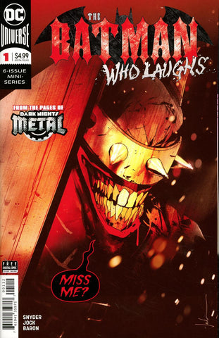 BATMAN WHO LAUGHS #1 (OF 6) FINAL PTG