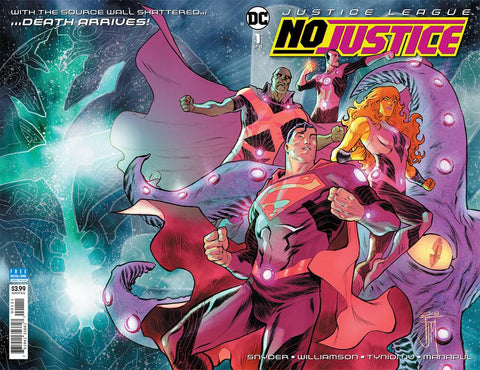 JUSTICE LEAGUE NO JUSTICE #1 (OF 4)