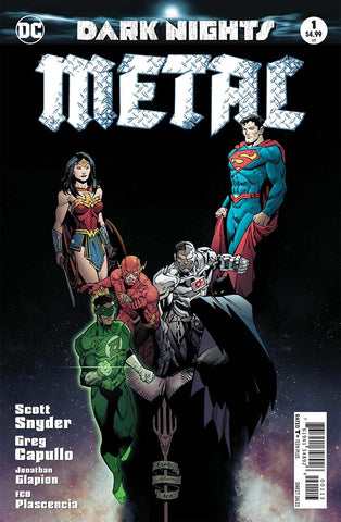 DARK NIGHTS METAL #1 (OF 6) 3RD PTG