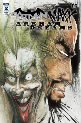 BATMAN THE MAXX ARKHAM DREAMS #2 (OF 5) CVR B KIETH