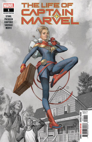 LIFE OF CAPTAIN MARVEL #1 (OF 5) 2ND PTG PACHECO V