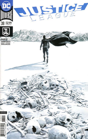 JUSTICE LEAGUE #38 VAR ED