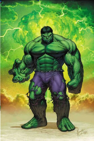 IMMORTAL HULK #20 DALE KEOWN GREEN EXCLUSIVE