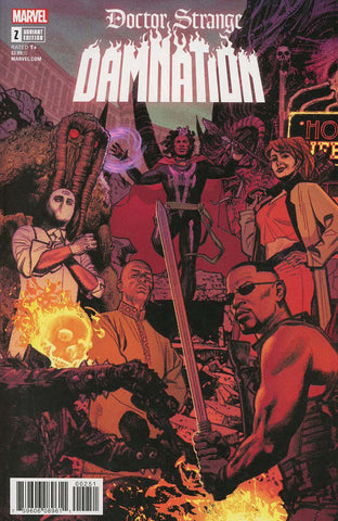 DOCTOR STRANGE DAMNATION #2 (OF 4) SMALLWOOD CONNECTING VAR