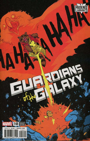 GUARDIANS OF GALAXY #148 HENDERSON PHOENIX VAR LEG