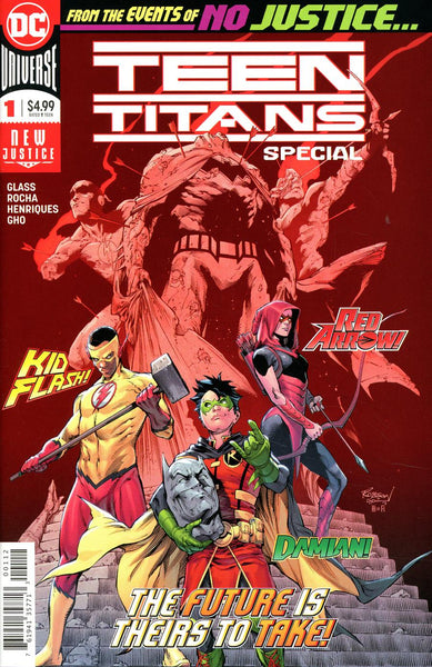 TEEN TITANS SPECIAL #1 2ND PTG