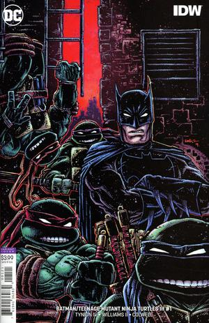 BATMAN TEENAGE MUTANT NINJA TURTLES III #1 (OF 6) VAR ED