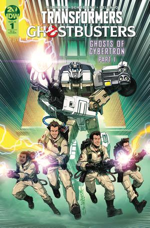 TRANSFORMERS GHOSTBUSTERS #1 MILNE INCEN