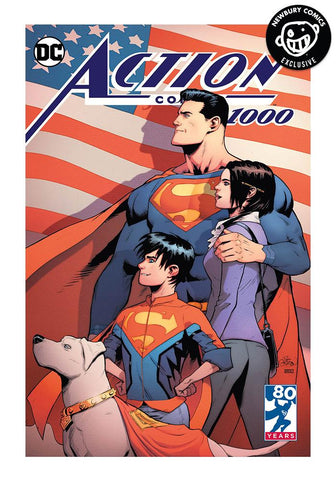ACTION COMICS #1000 PATRICK GLEASON EXCLUSIVE