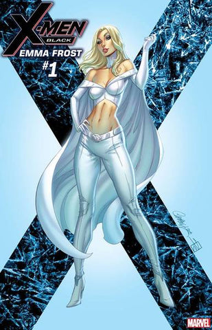 X-MEN BLACK EMMA FROST #1 J SCOTT CAMPBELL