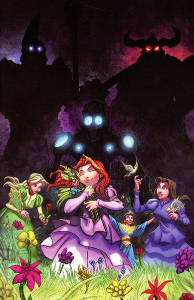ROBOTS VS PRINCESSES #1 CVR B CHAPUIS VIRGIN INCV