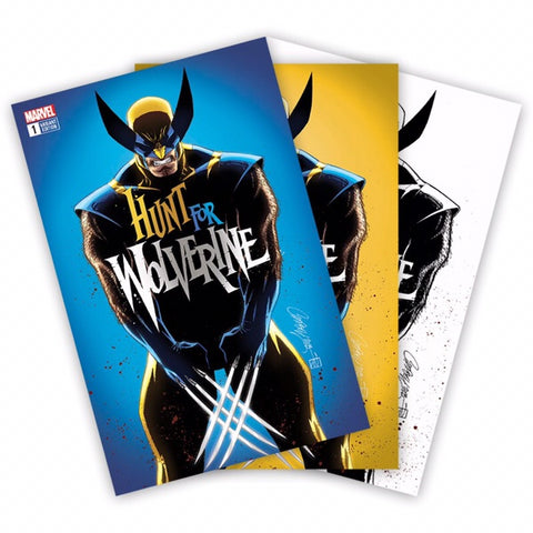 HUNT FOR WOLVERINE #1 J SCOTT CAMPBELL 3 PACK EXCLUSIVE
