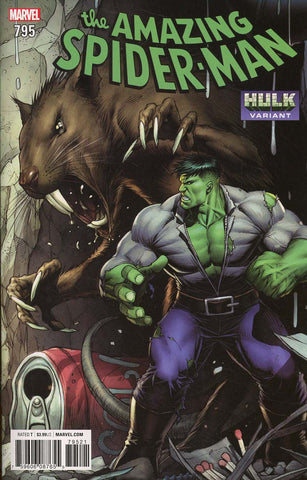 AMAZING SPIDER-MAN #795 KEOWN HULK VAR LEG