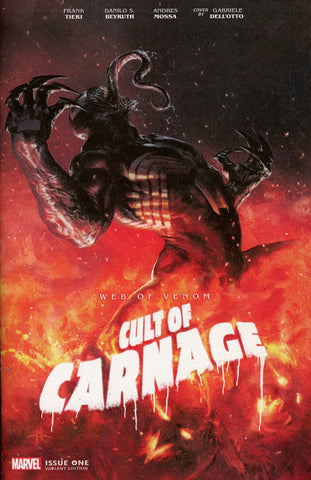 WEB OF VENOM CULT OF CARNAGE #1 DELLOTTO VAR