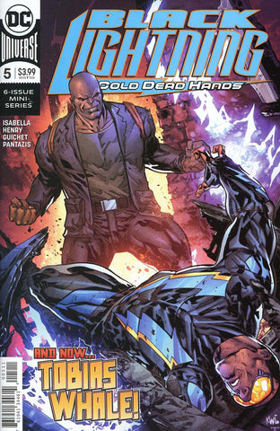 BLACK LIGHTNING COLD DEAD HANDS #5 (OF 6)