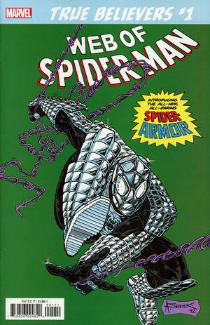 TRUE BELIEVERS SPIDER-ARMOR #1
