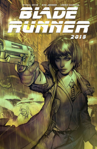 BLADE RUNNER #1 DAN QUINTANA EXCLUSIVE COVER