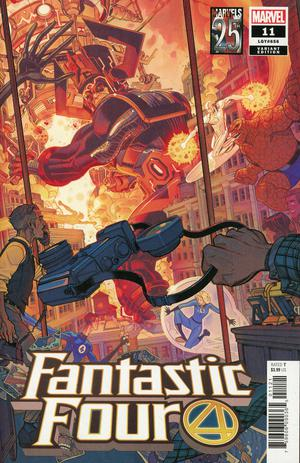 FANTASTIC FOUR #11 BRADHSAW MARVELS 25TH TRIBUTE VAR