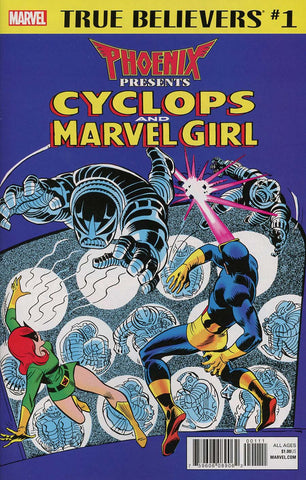 TRUE BELIEVERS PHOENIX FEATURING CYCLOPS & MARVEL GIRL