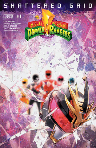 MIGHTY MORPHIN POWER RANGERS SHATTERED GRID #1 MAIN