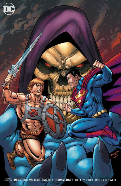 INJUSTICE VS HE MAN & MASTERS OF THE UNIVERSE #1 (OF 6) VAR ED