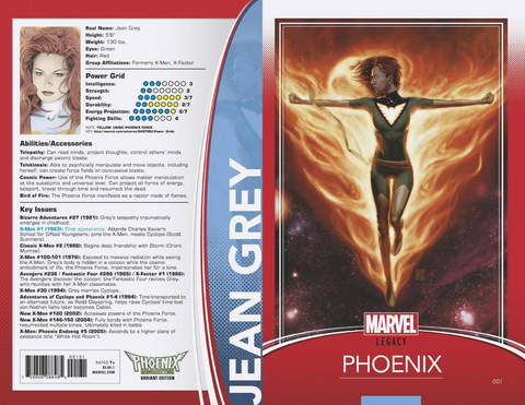PHOENIX RESURRECTION RETURN JEAN GREY #1 (OF 5) CHRISTOPHER