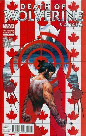 Death Of Wolverine #1 Cover E Variant Steve McNiven Canada Cover