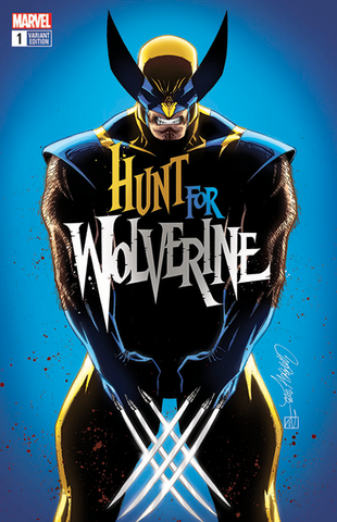 HUNT FOR WOLVERINE #1 J SCOTT CAMPBELL EXCLUSIVE