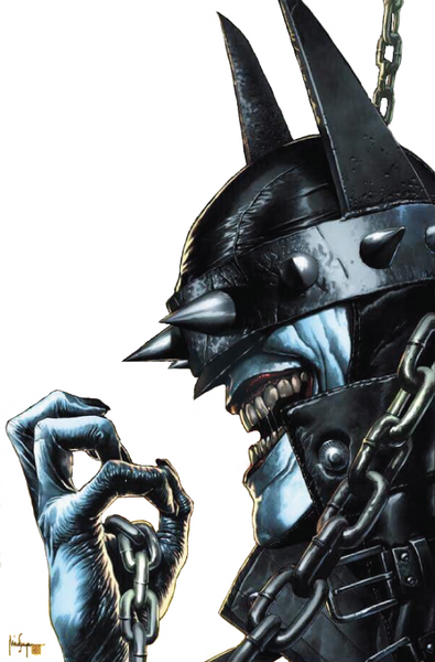BATMAN WHO LAUGHS #1 (OF 6) UNKNOWN EXCLUSIVE MICO SUAYAN CVR C