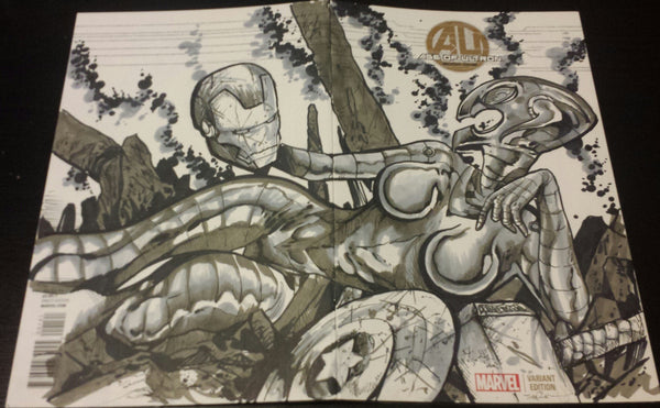 Age Of Ultron Original Sketch
