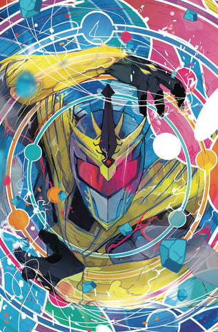 MIGHTY MORPHIN POWER RANGERS SHATTERED GRID #1 WARD INCV SG