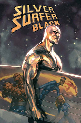 SILVER SURFER BLACK #1 (OF 5) PAREL VAR
