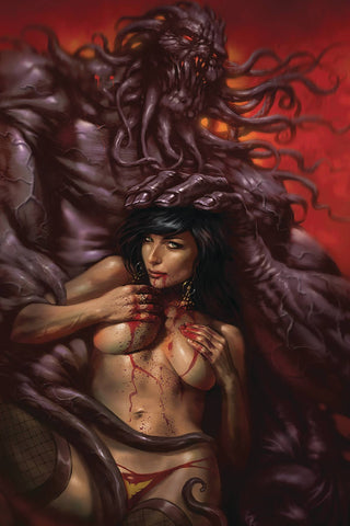 VAMPIRELLA #10 PARRILLO LTD VIRGIN CVR