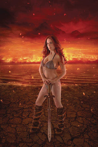 RED SONJA AGE OF CHAOS #1 COSPLAY VIRGIN INCV