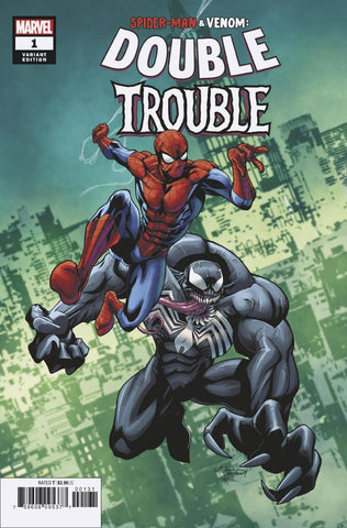 SPIDER-MAN & VENOM DOUBLE TROUBLE #1 (OF 4) LUBERA VAR