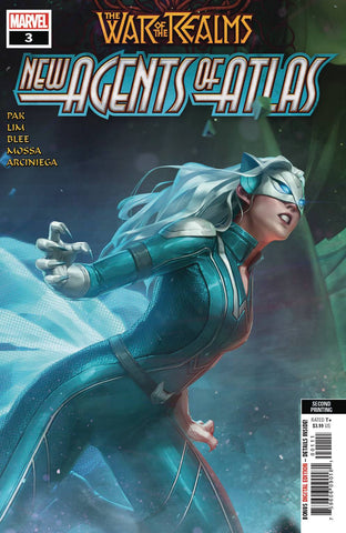 WAR OF REALMS NEW AGENTS OF ATLAS #3 (OF 4) 2ND PTG GANG HYU