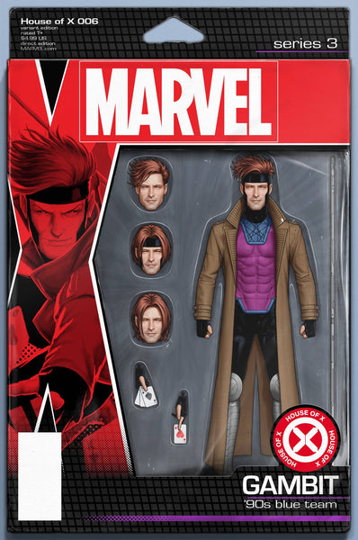 HOUSE OF X #6 (OF 6) CHRISTOPHER ACTION FIGURE VAR