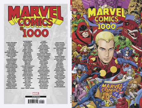 MARVEL COMICS #1000 2ND PTG BUCKINGHAM VAR