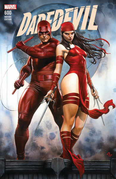 DAREDEVIL #600 LEG ADI GRANOV EXCLUSIVE